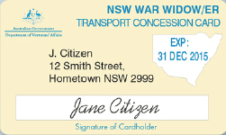 NSW War Widows/er