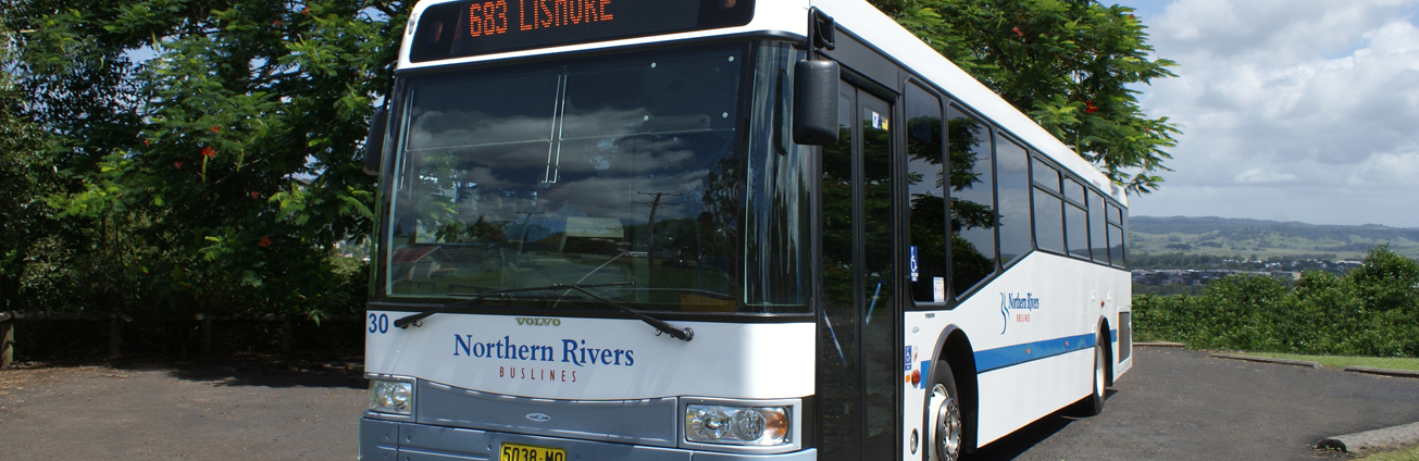 Northern Rivers Buslines bus